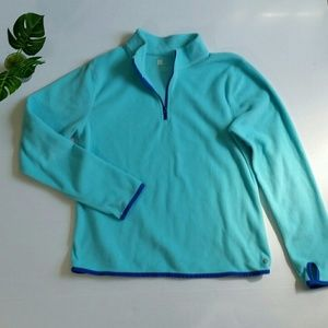 Xersion Girls Pullover Sweater 1/4 Zip Size 14/16